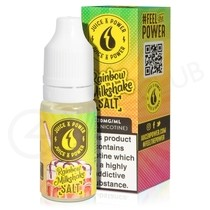 Rainbow Milkshake Nic Salt E-Liquid by Juice N Power