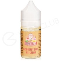 Raspberry Cake Ice Cream 25ml Shortfill by Bakers Fog