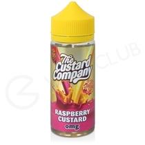 Raspberry Custard Shortfill E-Liquid by The Custard Company 100ml