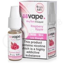 Raspberry Ripple E-Liquid by 88Vape Any Tank