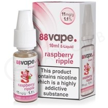 Raspberry Ripple E-Liquid by 88Vape
