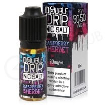 Raspberry Sherbet Nic Salt E-Liquid by Double Drip