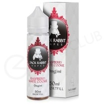 Raspberry White Cookie Shortfill E-liquid by Jack Rabbit 50ml