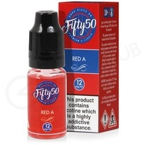 Red A E-Liquid by Fifty 50