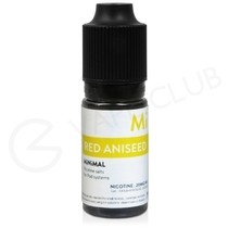 Red Aniseed eLiquid by Minimal