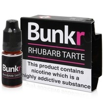 Rhubarb Tarte eLiquid by Bunkr