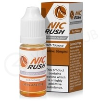 Rich Tobacco Salt eLiquid by Nic Rush