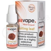 Rolling Leaf E-Liquid by 88Vape