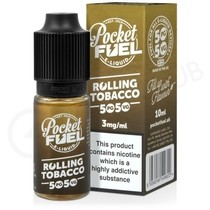 Rolling Tobacco E-lIquid by Pocket Fuel 50/50