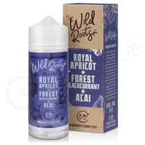 Royal Apricot, Forest Blackcurrant & Acai Shortfill E-Liquid by Wild Roots 100ml