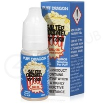 Salted Caramel Popcorn E-Liquid by Puff Dragon