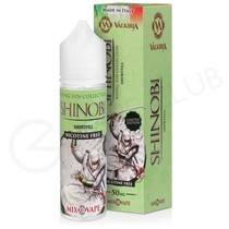 Shinobi Ice Limited Edition Shortfill E-Liquid by Valkiria 50ml