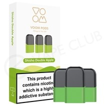 Shisha Double Apple Prefilled Pod by Voom