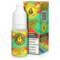 Spearmint Rainbow Nic Salt eLiquid by Juice N Power