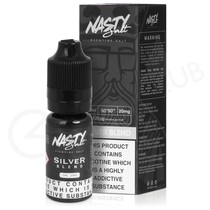 Silver Nic Salt E-liquid by Nasty Salts