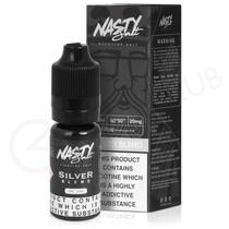 Silver Nic Salt E-liquid by Nasty Salts