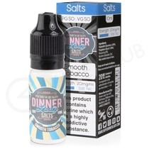 Smooth Tobacco Nic Salt E-Liquid by Dinner Lady