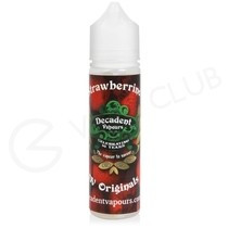 Strawberrino Shortfill E-Liquid by Decadent Originals 50ml