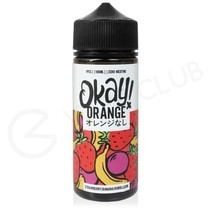 Strawberry Banana Bubblegum Shortfill E-Liquid by Okay Orange 100ml