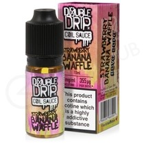 Strawberry Banana Waffle eLiquid by Double Drip