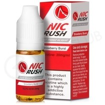 Strawberry Burst Salt eLiquid by Nic Rush