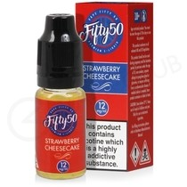 Strawberry Cheesecake E-Liquid by Fifty 50