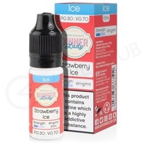 Strawberry Ice E-Liquid by Dinner Lady 70/30