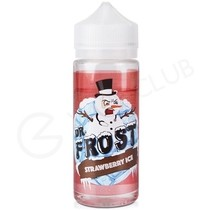 Strawberry Ice eLiquid by Dr Frost 100ml Short Fill
