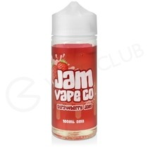 Strawberry Jam Shortfill E-Liquid by Jam Vape Co. 100ml