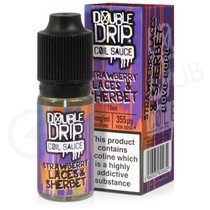 Strawberry Laces and Sherbet eLiquid by Double Drip