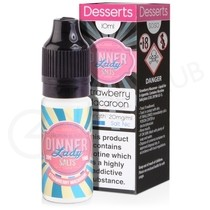 Strawberry Macaroon Nic Salt E-Liquid by Dinner Lady