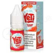 Strawberry Nic Salt E-Liquid by Yeti