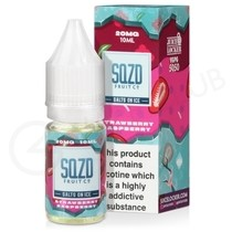 Strawberry Rasperry On Ice Nic Salt E-Liquid by SQZD