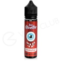 Strawberry Savage 50ml Shortfill by Juice Monster