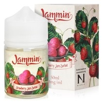 Strawberry Sorbet Shortfill E-Liquid by Jammin 50ml