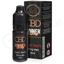 Sweet Fruits CBD E-Liquid by Dinner Lady