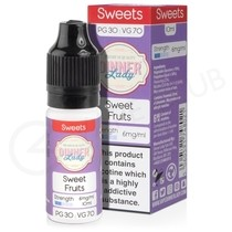 Sweet Fruits E-Liquid by Dinner Lady 70/30