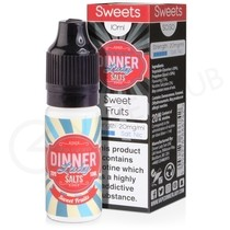 Sweet Fruits Nic Salt E-Liquid by Dinner Lady