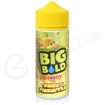Sweet Pineapple Shortfill E-Liquid by Big Bold 100ml