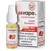 Sweet Strawberry E-Liquid by 88Vape Any Tank