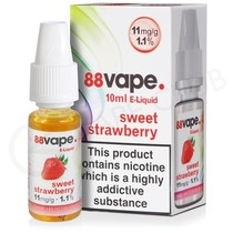 Sweet Strawberry E-Liquid by 88Vape