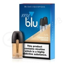 Tobacco Creme E Liquid Pod by MyBlu