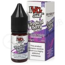 Tropical Berry Chew Nic Salt E-Liquid by IVG