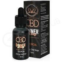 Tropical CBD Oral Drops by Dinner Lady