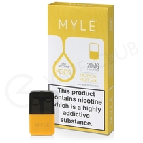 Tropical Fruit Mix Prefilled Pod by Myle