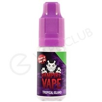 Tropical Island E-Liquid by Vampire Vape - 10ml