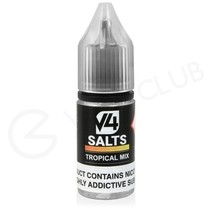 Tropical Mix Nic Salt E-Liquid by V4 VAPOUR
