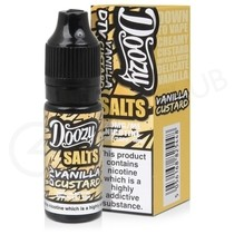 Vanilla Custard Nic Salt E-liquid by Doozy Salts