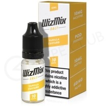 Vanilla Custard Nic Salt E-liquid by Wizmix