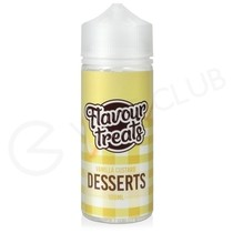 Vanilla Custard Shortfill E-Liquid by Flavour Treats Desserts 100ml